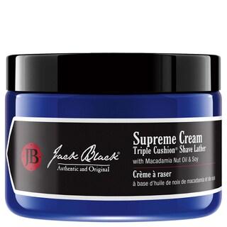 Jack Black Supreme Cream 9.5-ounce Triple Cushion Shave Lather
