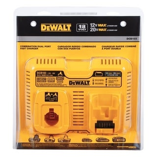 DeWalt Lithium-Ion Dual Battery Charger
