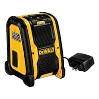 DeWalt  Wireless Portable Speaker  Bluetooth Yellow/Black