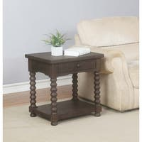 Kinley Spindle End Table