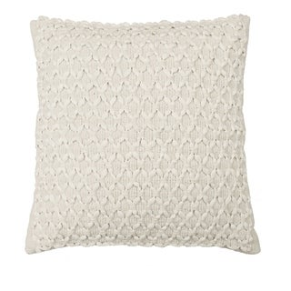 Beautyrest Laurel Woven Embellishment Decorative Pillow