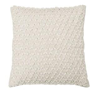 Beautyrest Laurel Woven Embellishment Decorative Pillow