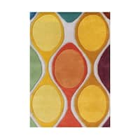 The Modern Spirit Tastes Alliyah Handmade Rug An Array Of Wonderful Colors Is Made From 100 Percent Natural Wool Fibers