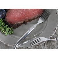 French Home Set of 4 Laguiole Connoisseur Stainless Steel Steak Forks