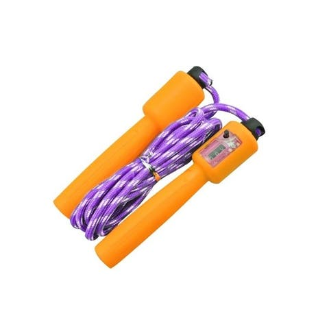 Adjustable Counting Fitness Jump Rope