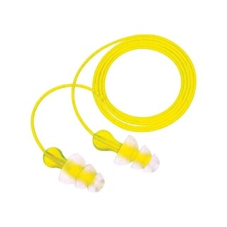 3M Reusable Ear Plugs 26 dB Clear 1 pair