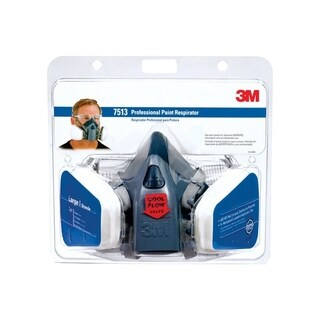 3M Professional Paint Half-Face Mask Respirator 9 pk