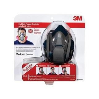 3M Pro Half-Face Mask Respirator 3 pk