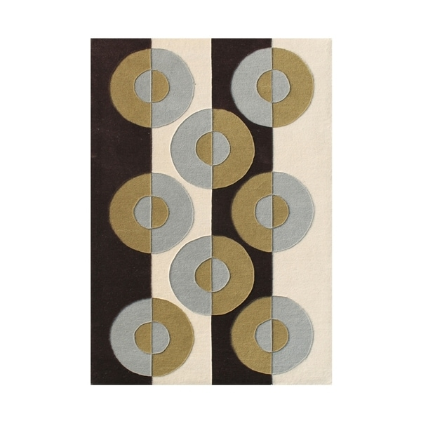 The Alliyah Mesopotimian Design 100% Pure Wool Fibers Rug 8x10