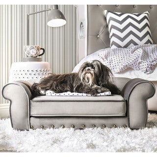 Furniture of America Rover Tufted Pet Bed