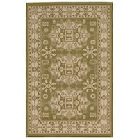 Medallion Outdoor Rug (7'10 x 7'10) - 7'10 x 7'10