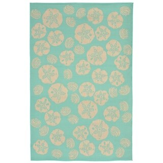 Sea Gems Outdoor Rug (7'10 x 7'10) - 7'10 x 7'10