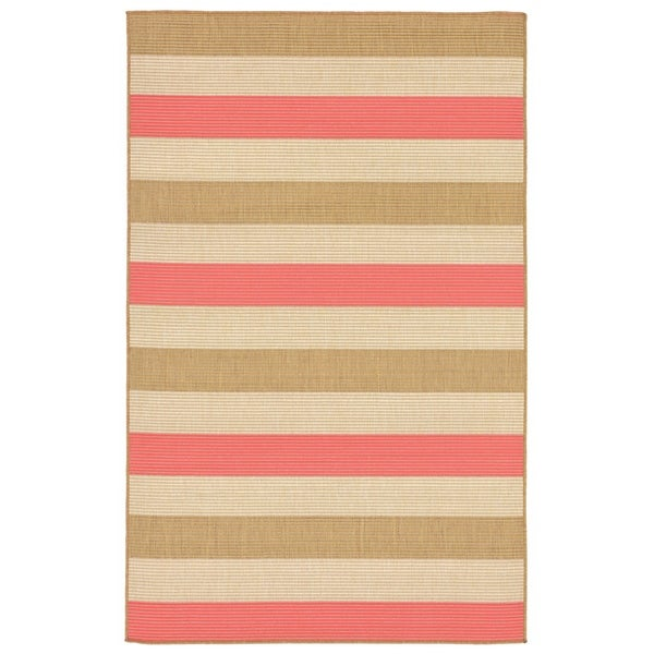 Band Stripe Outdoor Rug - 7'10 x 7'10