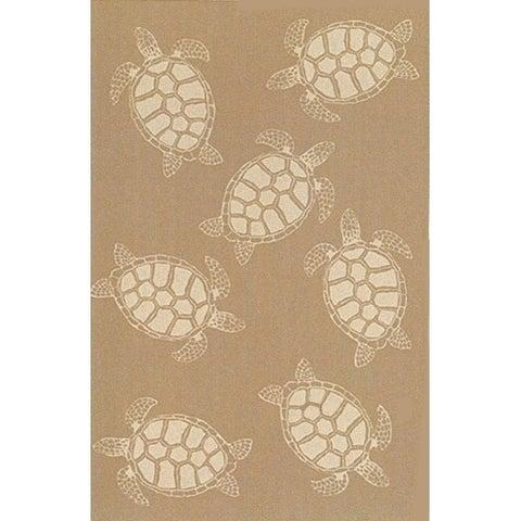 Liora Manne Tortoise Outdoor Rug (7'10) - 7'10