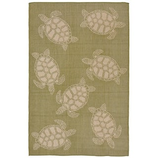 Tortoise Outdoor Rug (7'10) - 7'10