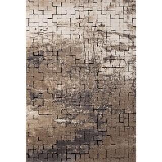 Rainier Afton Black/Multicolor Area Rug - 7' 10 x 9' 10