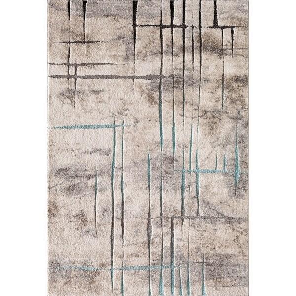 """Acaidia Havel Grey/Blue 7'10"""" X 9'10"""""""
