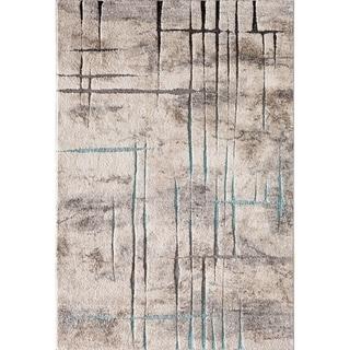 """Acaidia Havel Grey/Blue 5' X 7'3"""""""