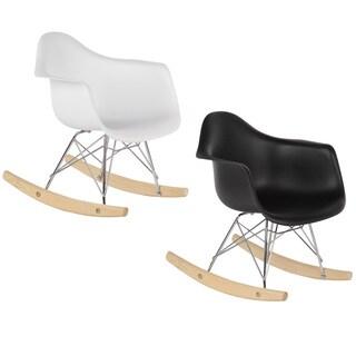 Children's Mid-Century Modern Rocking Chair