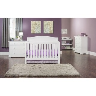 Dresden 4-in-1 Convertible Crib - Matte White