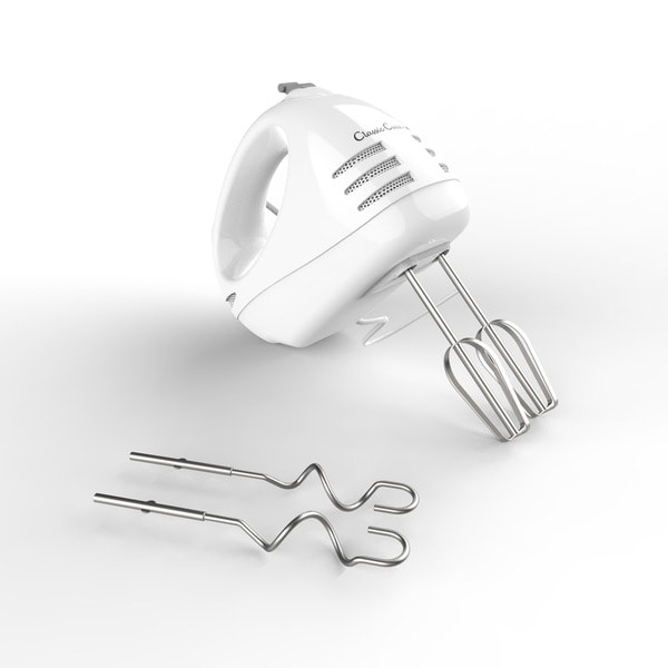 Shop Hand Mixer With Stainless Steel Beater Blades And