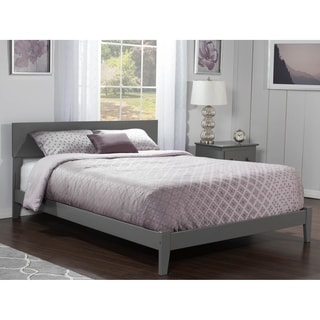 Orlando Full Traditional Bed in Atlantic Grey
