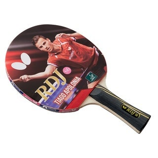 Butterfly RDJ S6 Table Tennis Racket  ITTF Approved Paddle  Excellent Balance of Spin, S