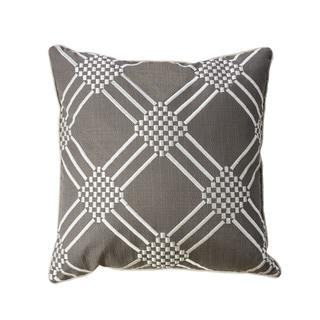 Furniture of America Foe Contemporary Grey Throw Pillows Set of 2