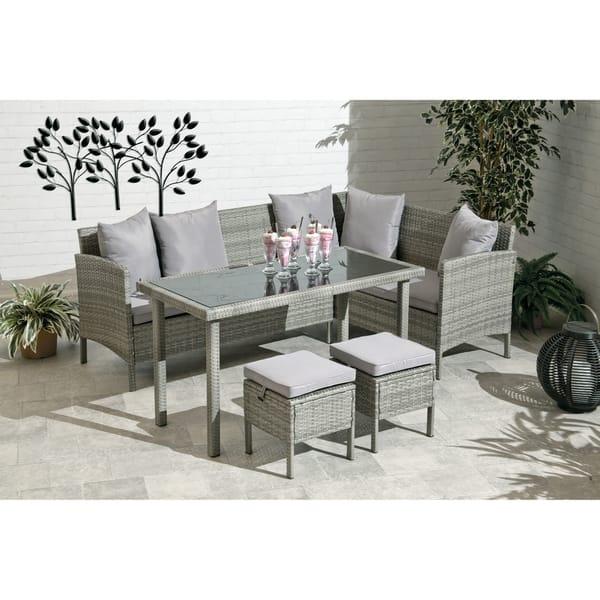 Groovy Santa Clara Sofa Dining Collection Rattan Cjindustries Chair Design For Home Cjindustriesco