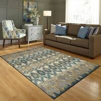"""Maples Rugs Poole Ikat Accent Rug (2'6""""x3'10"""")"""