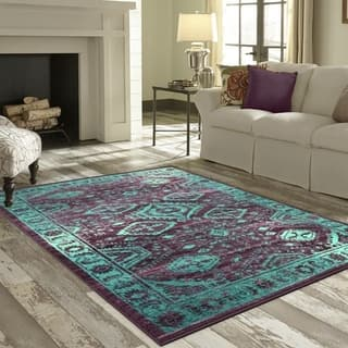 Buy Purple 7 X 10 Area Rugs Online At Overstock Com Our Best