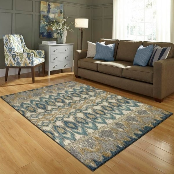 Dining 7 X 10 Rug: Shop Maples Rugs Poole Ikat Area Rug