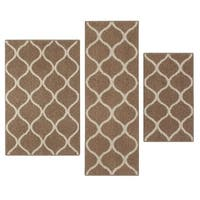 """Maples Rugs Moscow Trellis 3-Piece Accent Rug Set (1'8""""x2'10"""", 2'6""""x3'10"""", & 1'9""""x5')"""