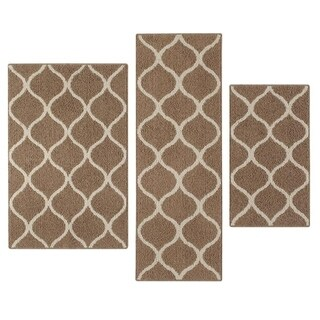 "Maples Rugs Moscow Trellis 3-Piece Accent Rug Set (1'8""x2'10"", 2'6""x3'10"", & 1'9""x5')"