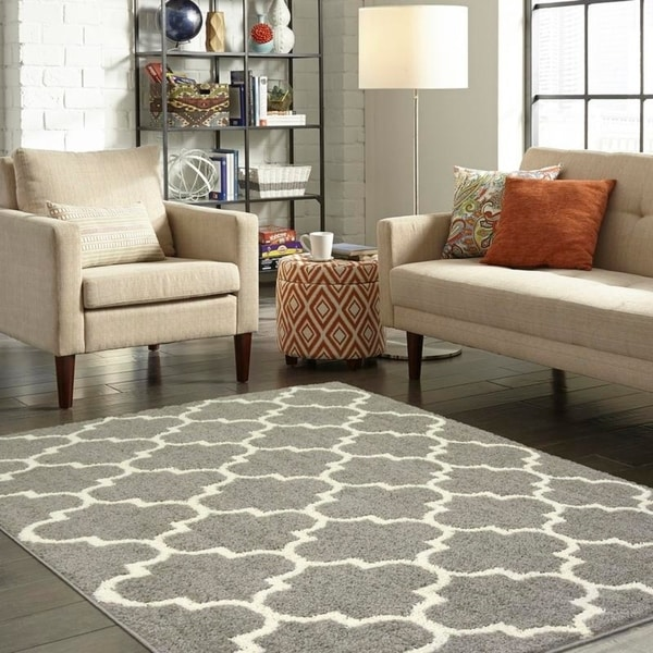 Shop Maples Rugs Shelby Trellis Runner Rug 5 X7 Free