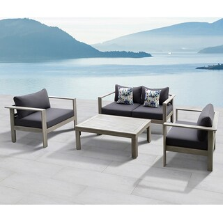 Gueliz 4-Piece Outdoor Conversation Patio Set