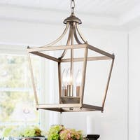 Sunsus Gold 3-light Lantern Pendant