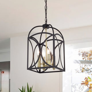 Wenibal 10-Inch Antique Bronze 4-Light Pendant