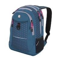 SwissGear Dark Gems- Pink Dots Target  18  inch  Laptop Backpack