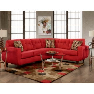 SofaTrendz Buffalo Tufted Contemporary Sectional