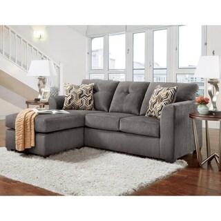 Link to SofaTrendz Ballina Gray Chofa Similar Items in Living Room Furniture