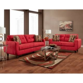 Buy Red Living Room Furniture Sets Online at Overstock.com | Our ...