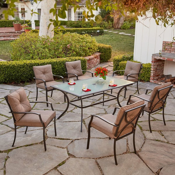 Hanover Palm Bay 7-Piece Dining Set
