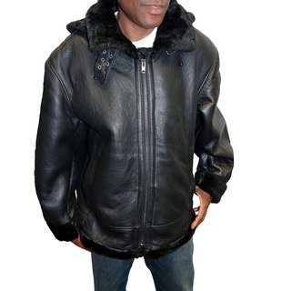 Isabel Ricci Men's B3 Shearling Leather Jacket