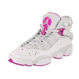 Nike Jordan Kids Jordan 6 Rings GG Basketball Shoe