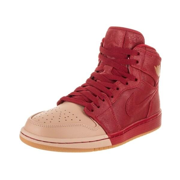da3f14ac303b Shop Nike Jordan Women s Jordan 1 Retro Hi Premium Basketball Shoe ...