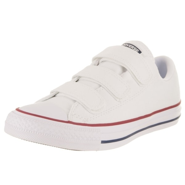 54404e5985b137 Shop Converse Women s Chuck Taylor All Star 3V Ox Casual Shoe - Free ...