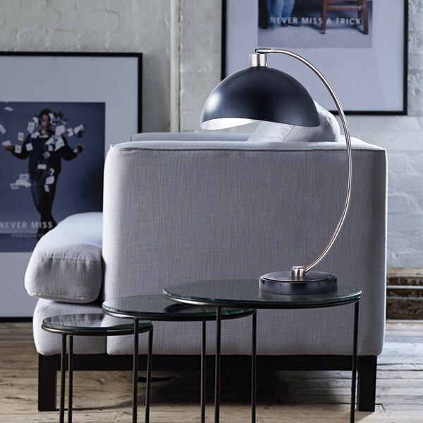 Nova Modern Luna Bella Metal Table Lamp