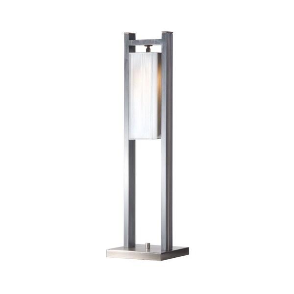 Nova Lighting Cascade Table Lamp, Charcoal Gray
