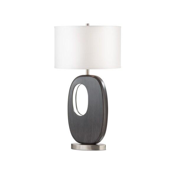 Nova Modern Grey Offset Standing Table Lamp